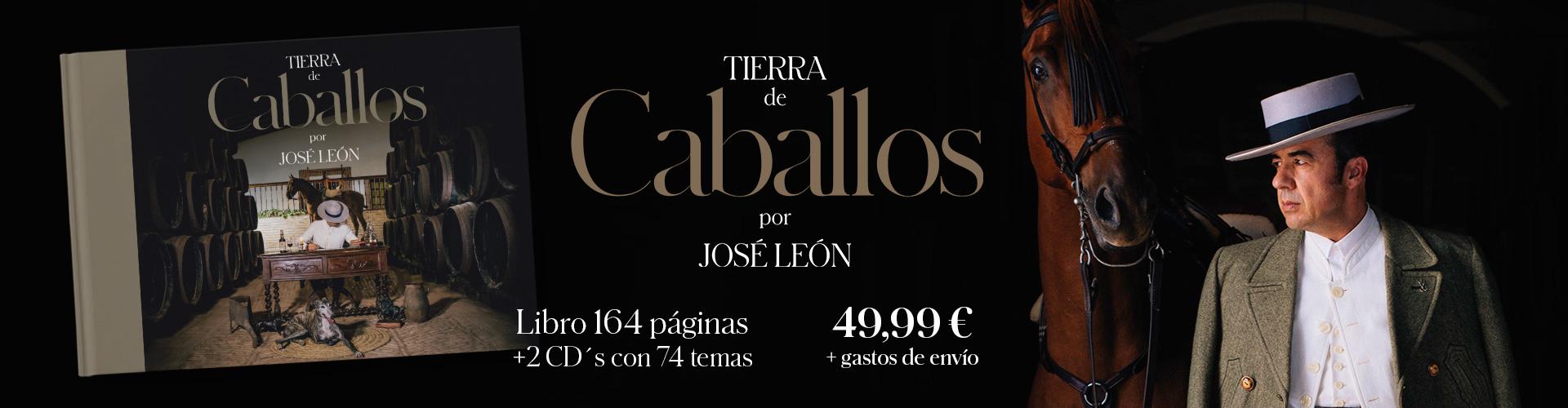 Tierra de Caballos, el nuevo libro-disco de José León